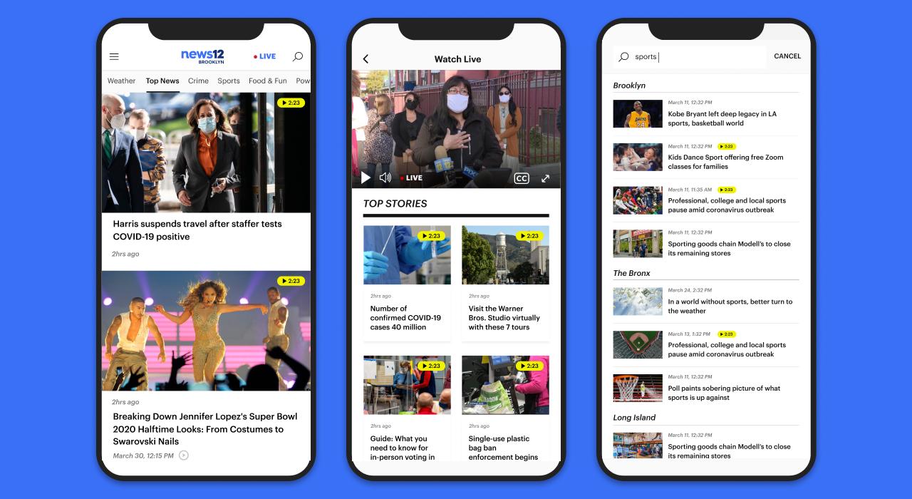 News12 Web & App Experience